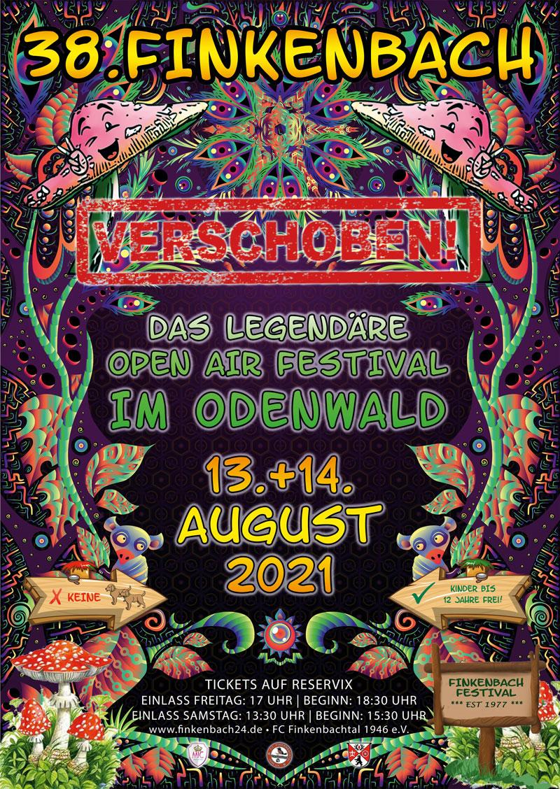 FINKENBACH FESTIVAL 2021 LEIDER WIEDER VERSCHOBEN!