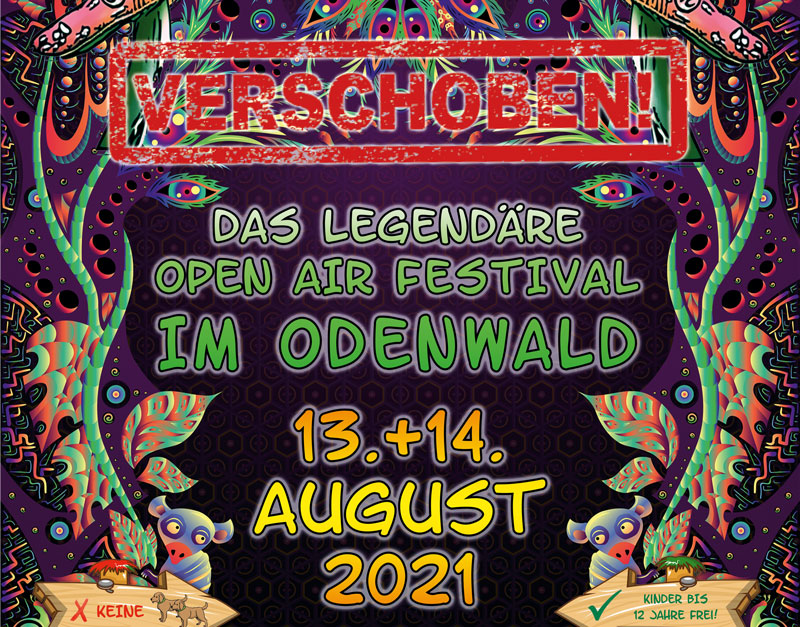 FINKENBACH FESTIVAL 2020 VERSCHOBEN!